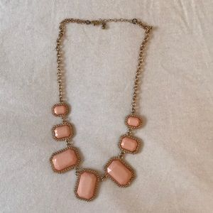 Pink and Gold Chinky Necklace
